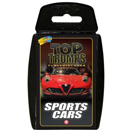 Top Trumps Sport Cars Cards