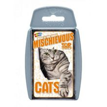 Top Trumps Cats Cards