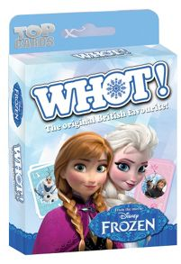 Winning Moves Top Cards Disney Frozen Whot!