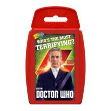 Top Trumps Doctor Who 8Th Season Cards