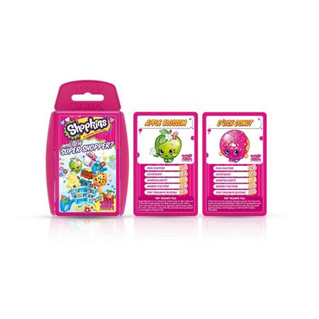 Top Trumps Shopkins Who Is The Cutest Cards