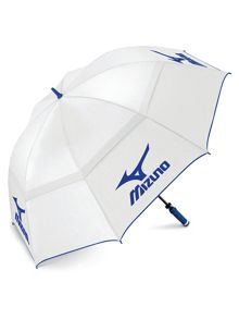 Twin canopy umbrella