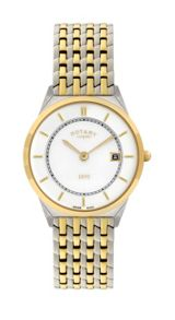 GB08001/02 Gold and silver mens watch