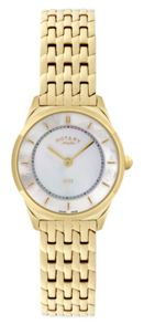 Rotary LB08002/40 Gold ladies watch