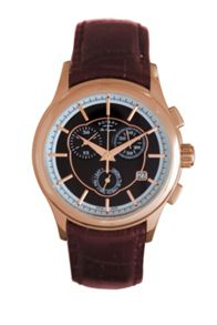 GS90046/06 Les Originales Mens Brown Strap Watch