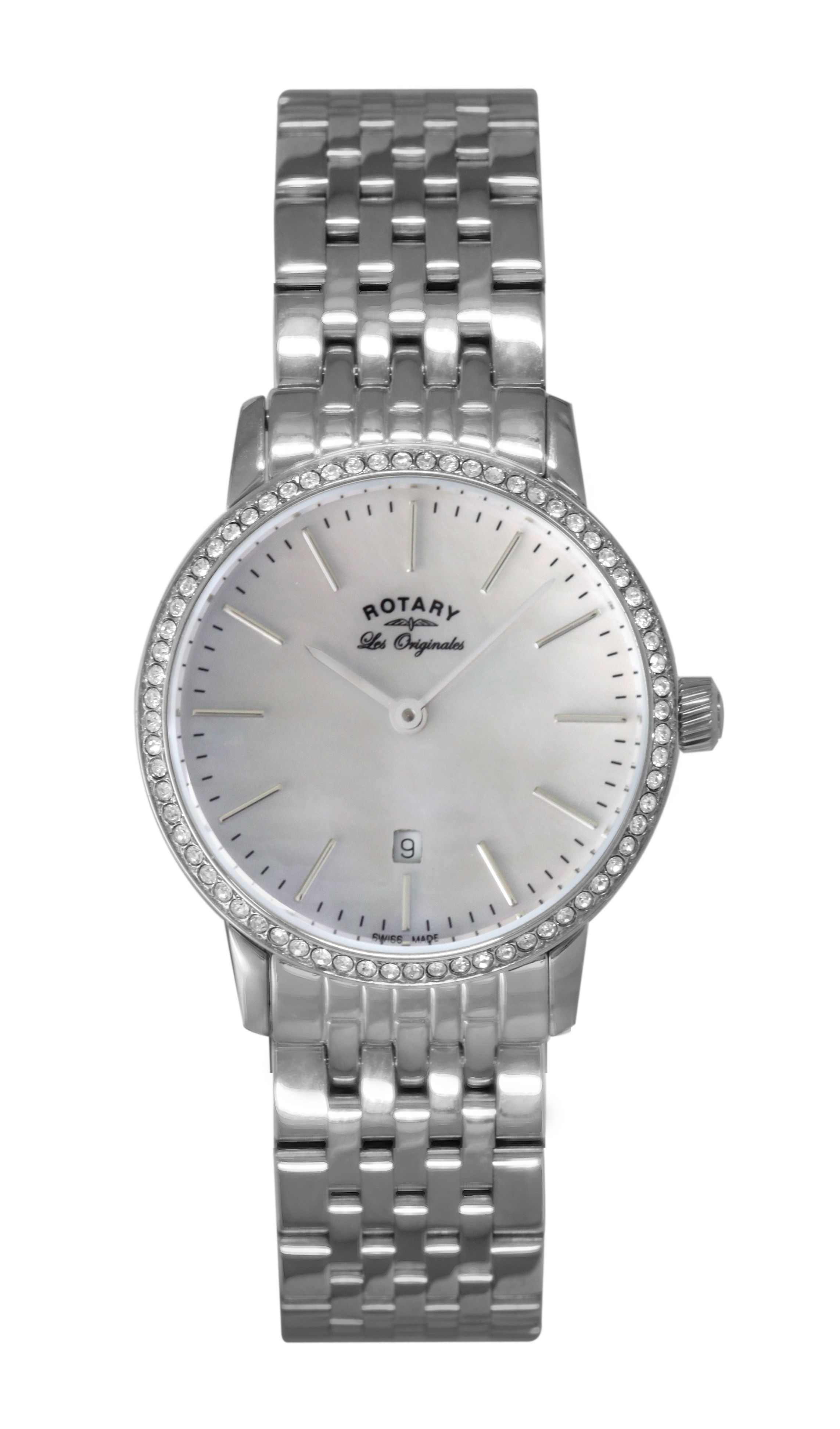 LB90050/07 Ladies Silver Bracelet Watch
