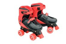 Zinc Adjustable Quad Skates - Black Size 3-5
