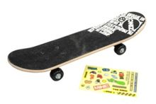 Zinc 61cm Skateboard with Stickers