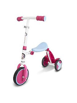 R1 Pink Trike To Tri-Scooter