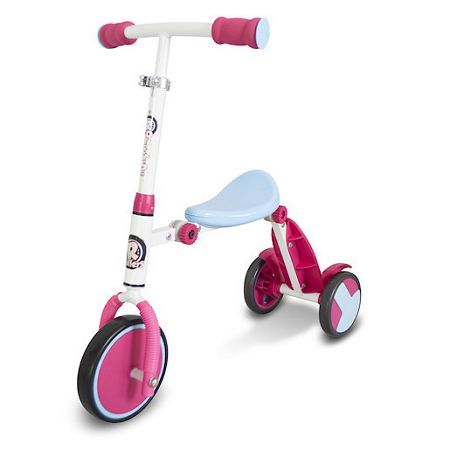 Hy-Pro R1 Pink Trike To Tri-Scooter