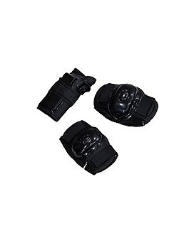 Knee, Elbow & Wrist Gear Set - Black
