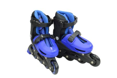 Zinc Adjustable Inline Skates Size 13-4
