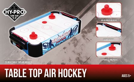 Hy-Pro Table Top Air Hockey Game