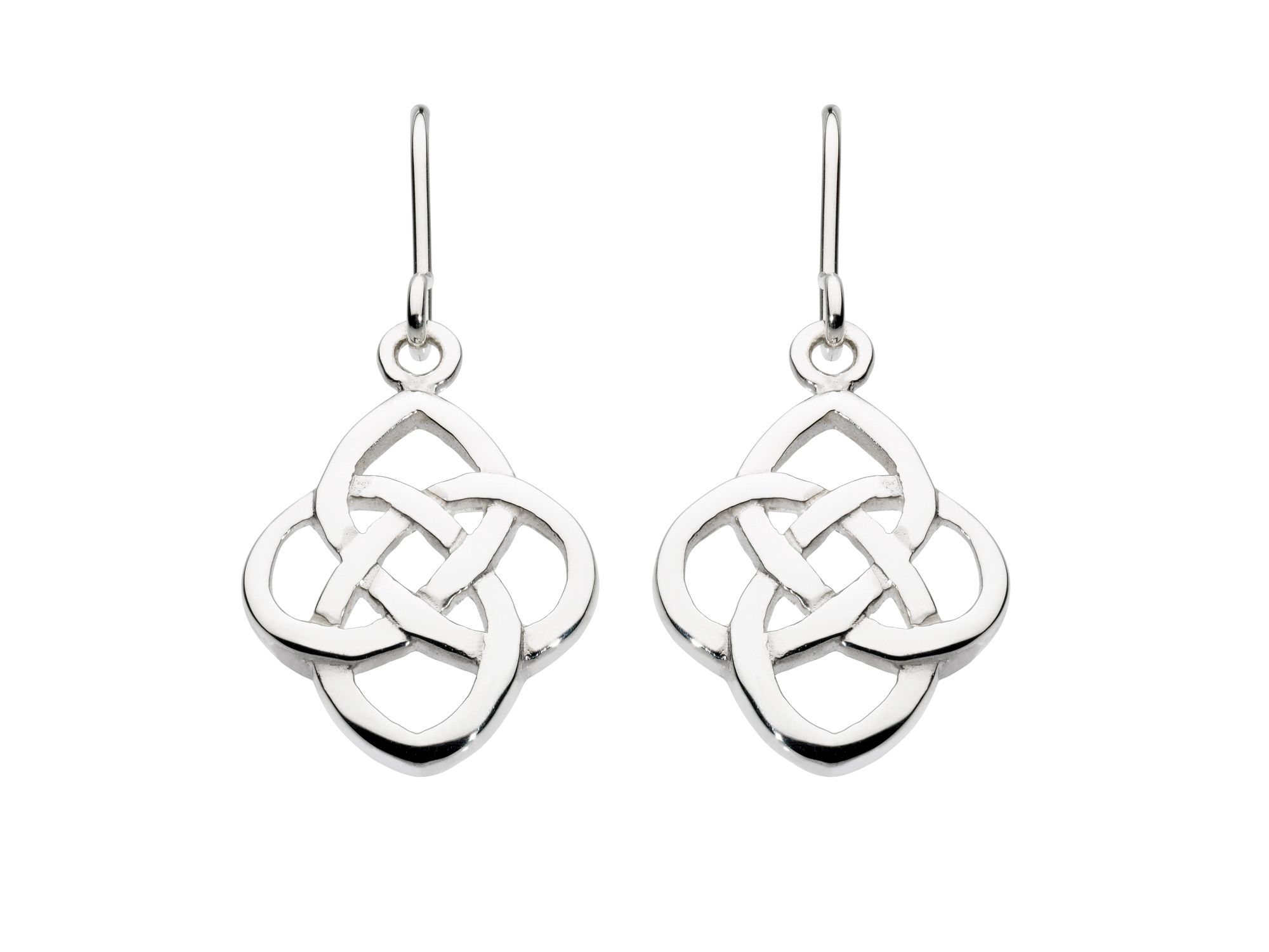 Celtic Open Knot Drops