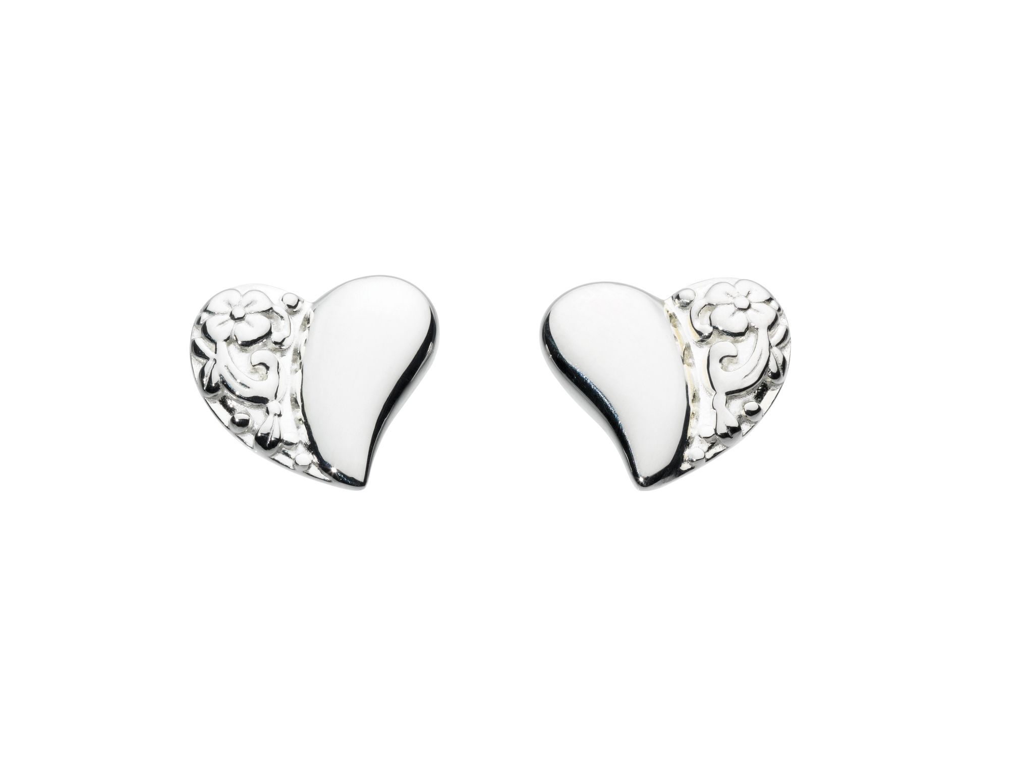 Enchanted Heart Stud Earrings