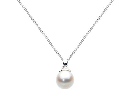 Kit Heath Sterling silver white freshwater pearl necklace