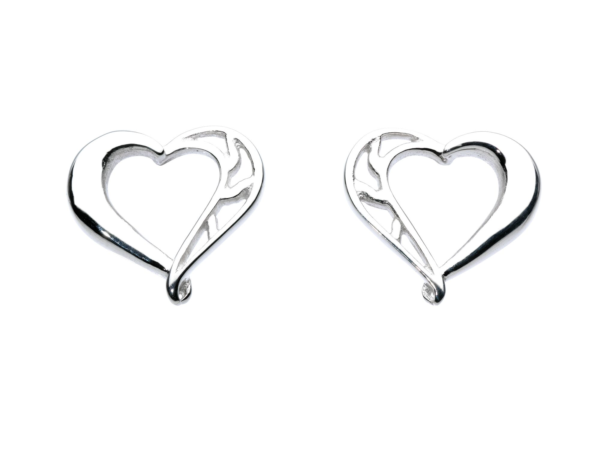 Tender Heart Stud Earrings