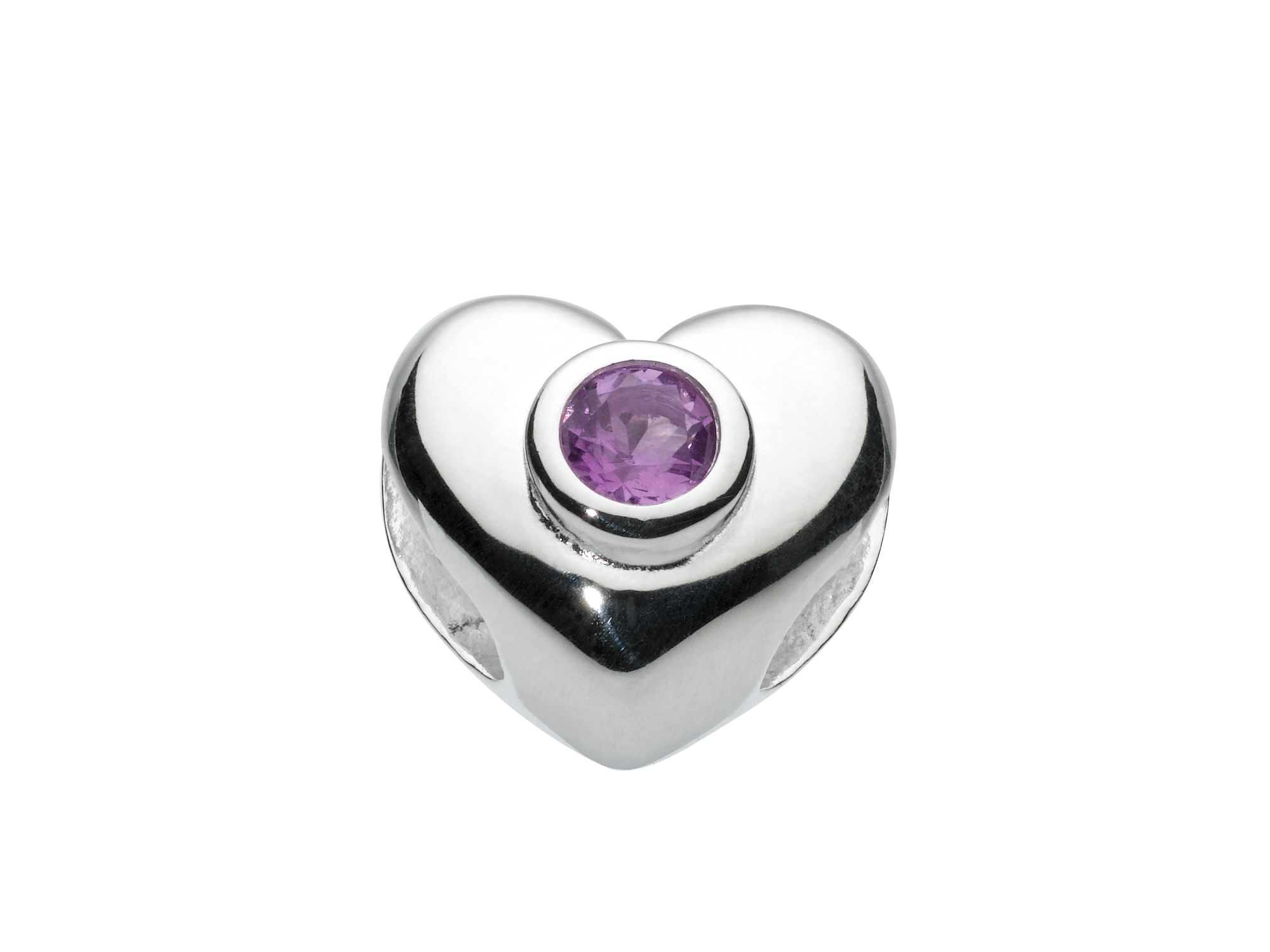 Kids february heart birthstone