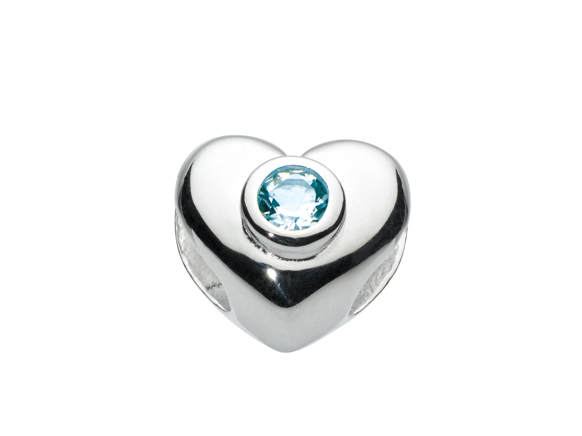 Kids march heart birthstone