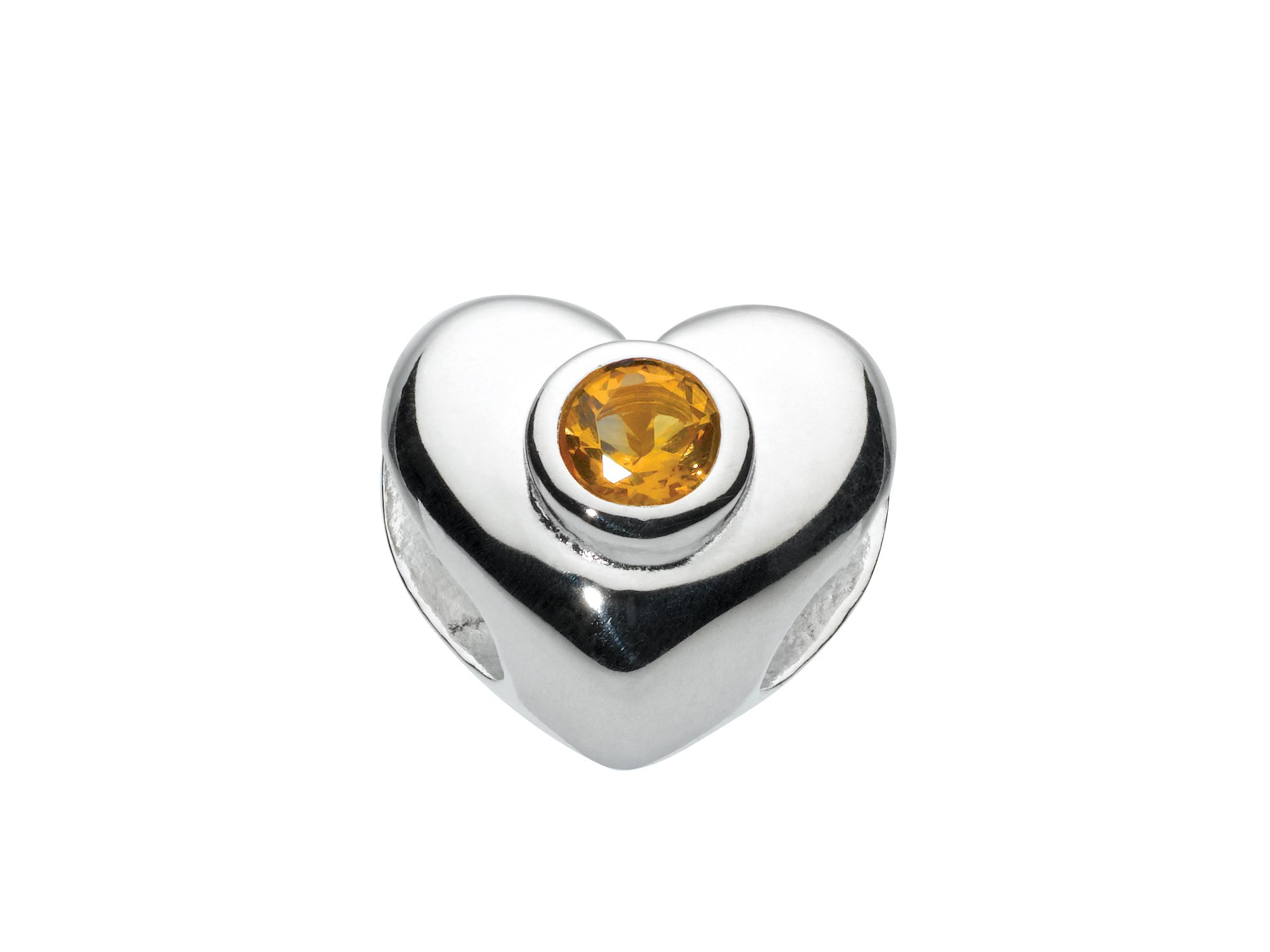 Kids november heart birthstone