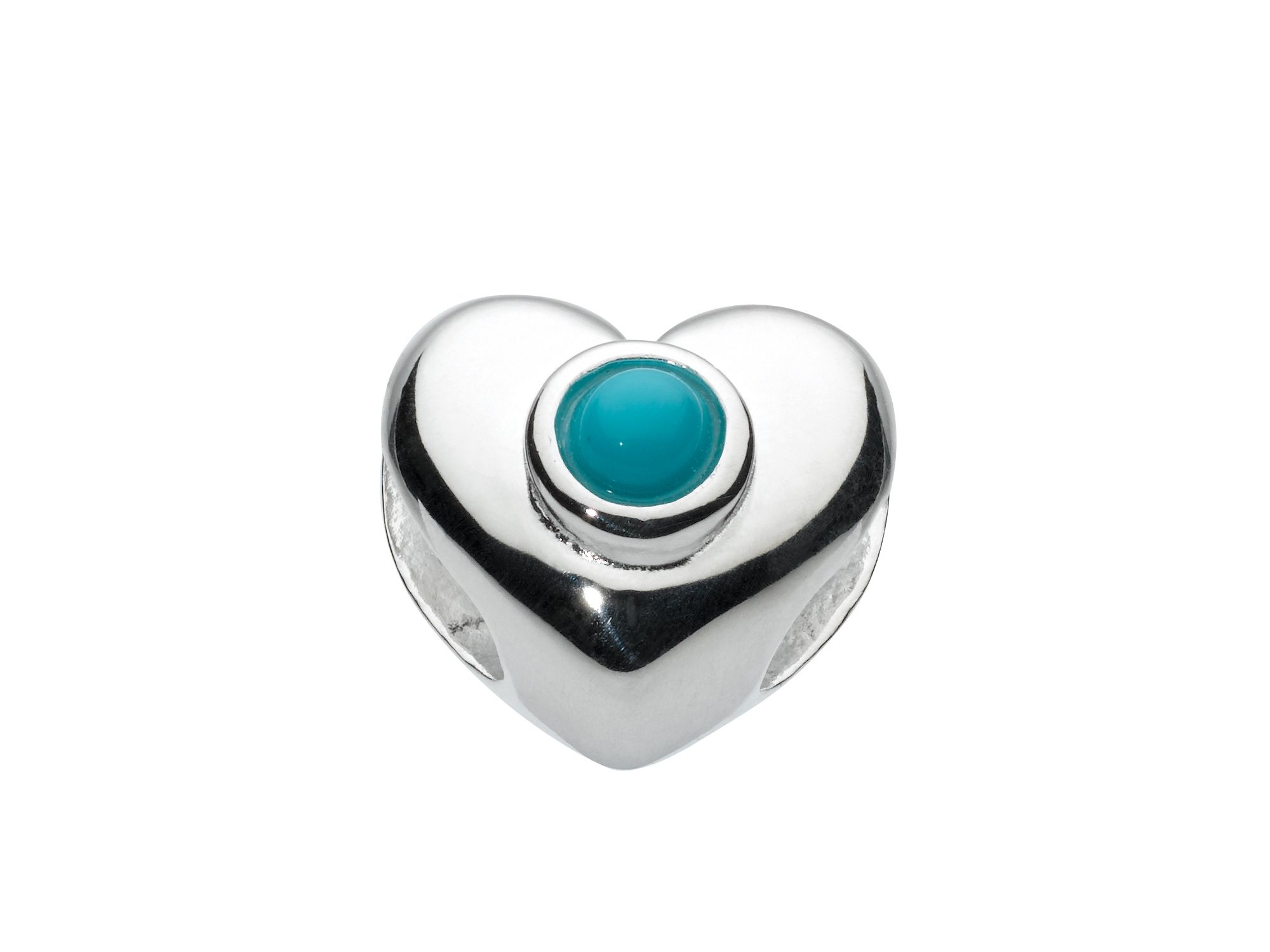 Kids december heart birthstone