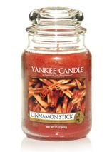 Yankee Candle Large cinnamon stick housewarmer candle