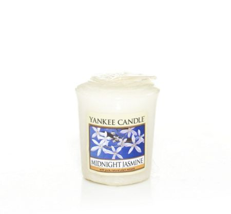 Yankee Candle Midnight jasmine wrapped votive candle
