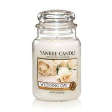 Yankee Candle Large wedding day housewarmer candle