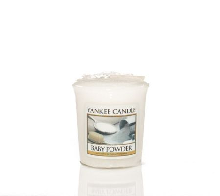 Yankee Candle Baby powder wrapped votive candle