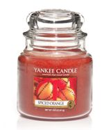 Yankee Candle Medium spiced orange housewarmer candle