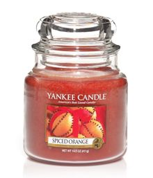 Yankee Candle Spiced orange housewarmer range
