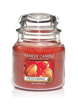 Medium spiced orange housewarmer candle