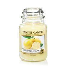 Large sicilian lemon housewarmer candle