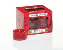Yankee Candle True rose tea lights box of 12