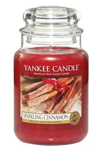 Yankee Candle Classic large jar sparkling cinnamon