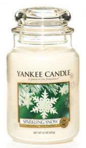 Yankee Candle Classic large jar sparkling snow