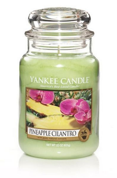 Yankee Candle Large jar pineapple cilantro