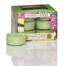 Yankee Candle Pineapple cilantro tea lights box of 12