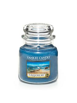 Medium jar turquoise sky