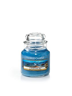 Small jar turquoise sky