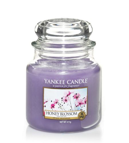 Yankee Candle Honey blossom medium jar candle