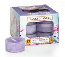 Yankee Candle Honey blossom tea lights box of 12