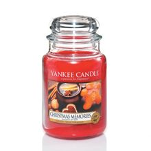 Christmas Memories Large Jar Candle