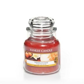 Yankee Candle Vanilla chai candles