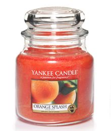 Yankee Candle Orange Splash Medium Jar
