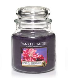 Yankee Candle Black Plum Blossom Medium Jar