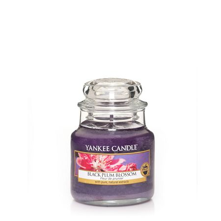 Yankee Candle Black Plum Blossom Small Jar