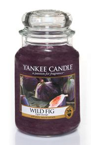 Yankee Candle Wild Fig Large Jar