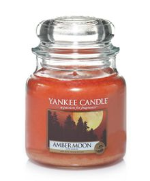 Yankee Candle Amber Moon Medium Jar