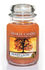 Yankee Candle Honey Glow Large Jar